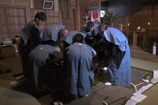 大久保の田遊び神事