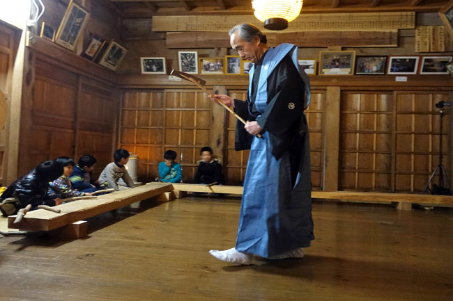 五所神社の御田植神事